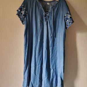 Sundress - Old Navy short sleeve Lyocell (soft!)